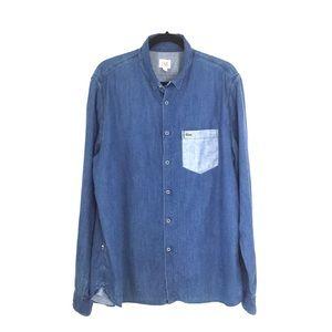Lacoste Live Cotton Snap Shirt